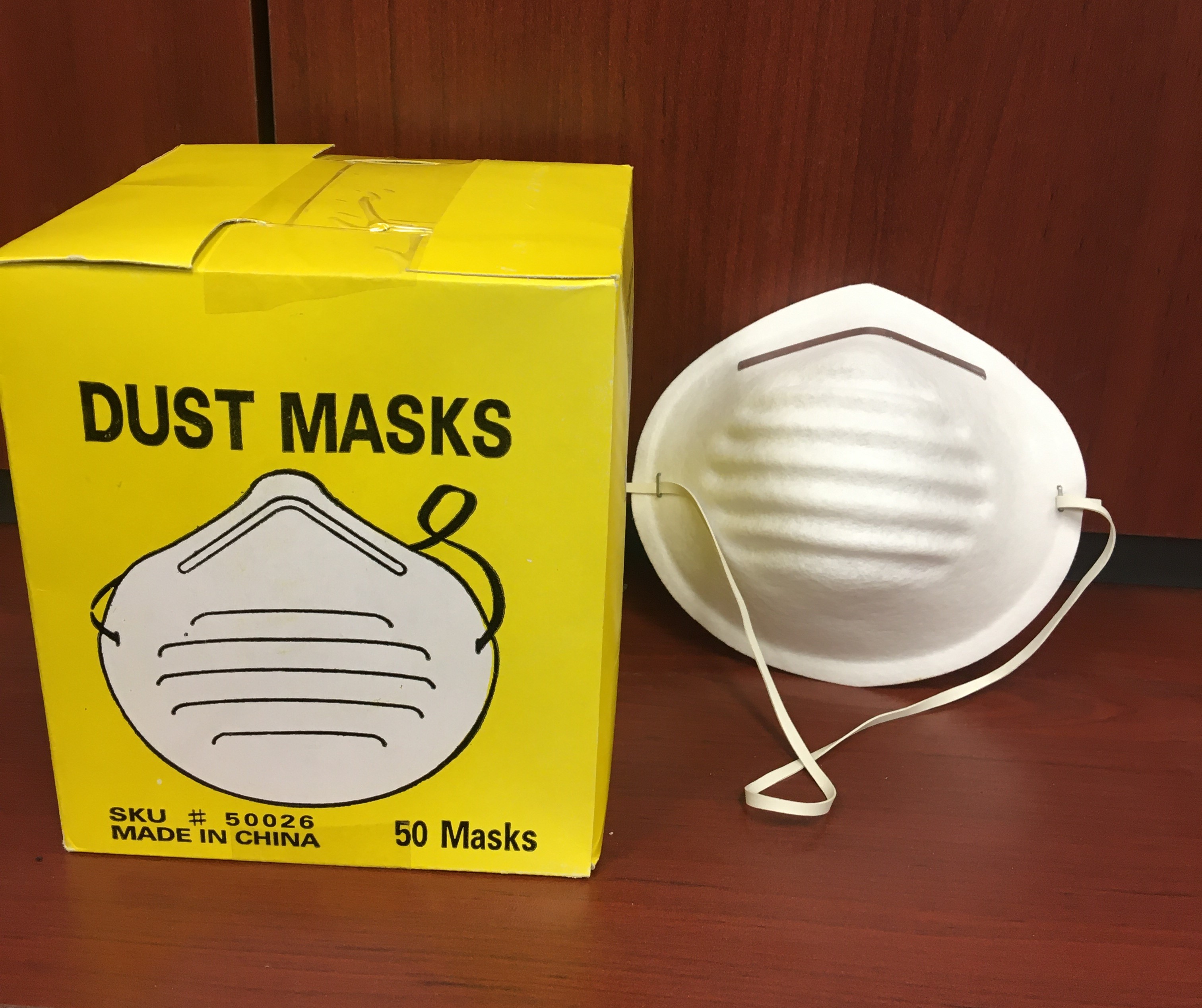 08-9450 - Dust Mask 50 pc.